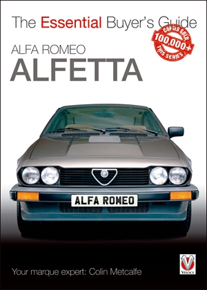 Alfa Romeo Alfetta: all saloon/sedan models 1972 to 1984 & coupé models 1974 to 1987