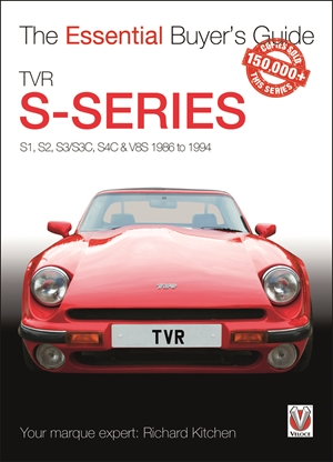 TVR S-series S1, S2, S3/S3C, S4C & V8S 1986 to 1994