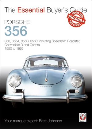 Porsche 356 356, 356A, 356B, 356C including Speedster, Roadster, Convertible D and Carrera 1950 to 1965