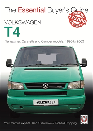 Volkswagen T4 Transporter, Caravelle and Camper models, 1990 to 2003