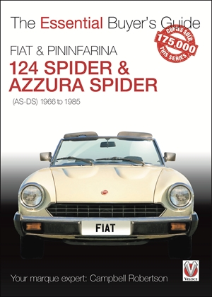 FIAT 124 Spider & Pininfarina Azzura Spider