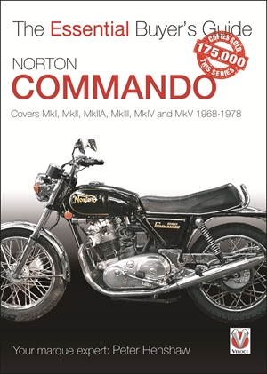 Norton Commando Covers MkI, MkII, MkIIA, MkIII, MkIV and MkV 1968 - 1978