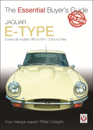 Jaguar E-Type Covers all models 1961 go 1971: 3.8 & 4.2-litre