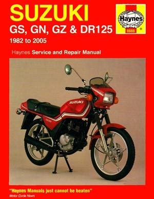 Suzuki GS & DR125, '82-'05