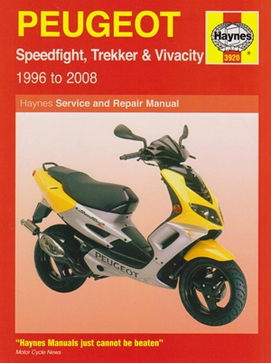 Peugot Speed Flight Scooters, '96-'08