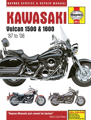 Kawasaki Vulcan 1500 & 1600 '87 to '08