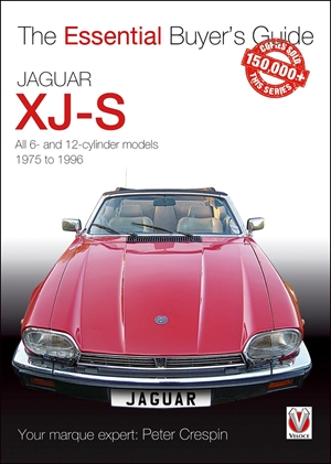 Jaguar XJ-S All 6- and 12-cylinder models 1975 to 1996