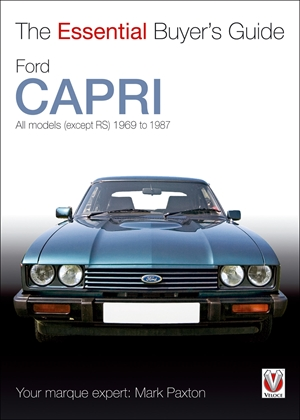 Ford Capri  All models (except RS) 1969 to 1987