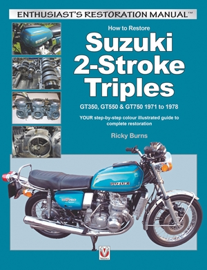How to Restore Suzuki 2-Stroke Triples GT350, GT550 & GT750 1971 to 1978