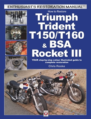 How to Restore Triumph Trident T150/T160 & BSA Rocket III