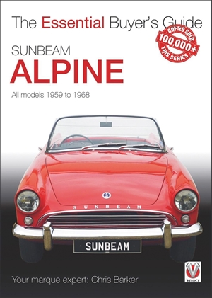 Sunbeam Alpine All models 1959 to 1968