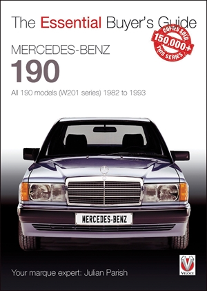 Mercedes-Benz 190 All 190 models (W201 series) 1982 to 1993