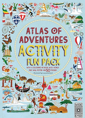 Cover of Atlas of Adventures Activity Fun Pack 9781847807335