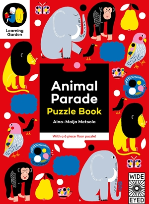 Animal Parade Puzzle Book