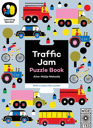 Traffic Jam Puzzle Book - With a 6 piece floor puzzle!
