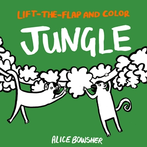 Lift-the-flap and Color Jungle