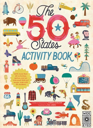 The  50 States: Activity Book - Custom