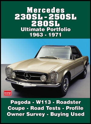 Mercedes 230SL, 250SL, 280SL Ultimate Portfolio 1963-1971