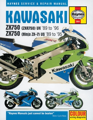 Kawasaki ZX750 Ninjas 2X7 and ZXR 750