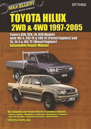 Toyota Hilux  2WD & 4WD 1997-2005