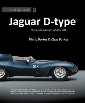 Jaguar D-type The Autobiography of XKD 504