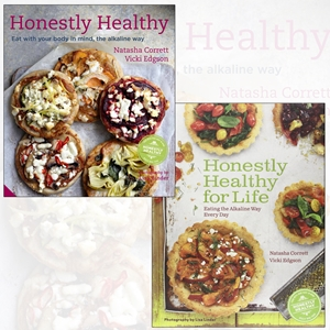 Honestly Healthy Cookbook Collection 2 Books Set, (Honestly Healthy for Life: Healthy Alternatives for Everyday Eating and Honestly Healthy: Eat with your body in mind, the alkaline way)