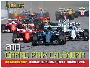 Autocourse 2017 Grand Prix Calendar