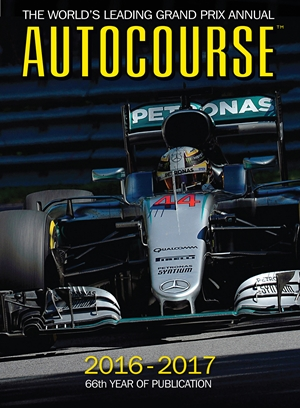 Autocourse 2016-2017 The World's Leading Grand Prix Annual - 66th Year of Publication