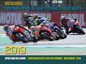 Motocourse 2019 Grand Prix & Superbike Calendar