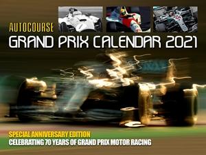 Autocourse 2021 Grand Prix Calendar