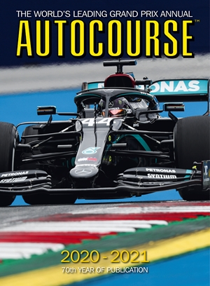 Autocourse 2020-2021 The World's Leading Grand Prix Annual - 70th Year of Publication