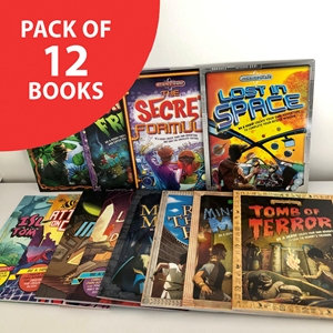 Quest Adventure (pack of 12 books)