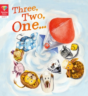 Reading Gems: Three, Two, One… (Level 1)
