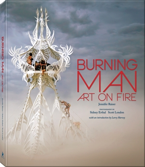 Burning Man Art on Fire