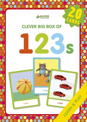 123s Memory flash cards