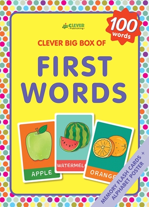 First Words Memory flash cards