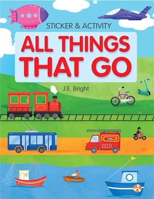 All Things That Go Activities and Stickers