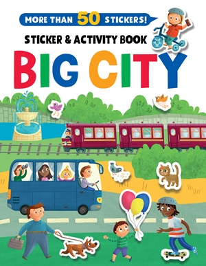 Big City Stickers and Activity Book