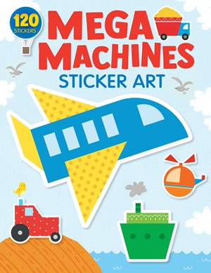 Mega Machines Sticker Art