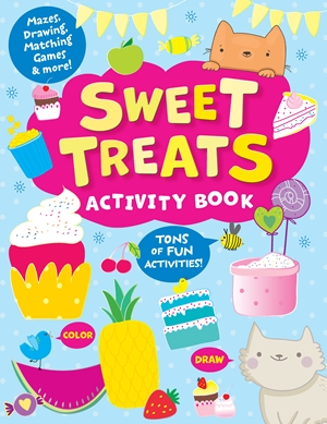 The Sweet Treats Activity Book