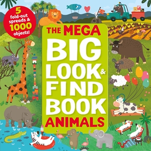 Mega Big Look and Find Animals