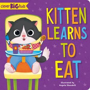 Kitten Learns to Eat